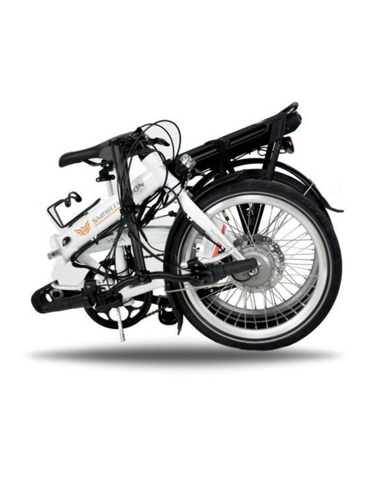 SmartMotion E-20 Foldable Bike - Red image 2