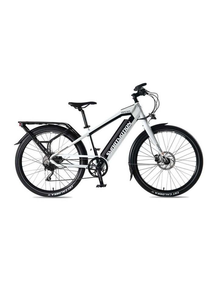 SmartMotion Pacer Electric Bike - Small White image 1