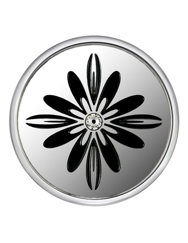 Emmesphere Sound Necklace - Silver + Qliq Filigree Bat Orchid image 2