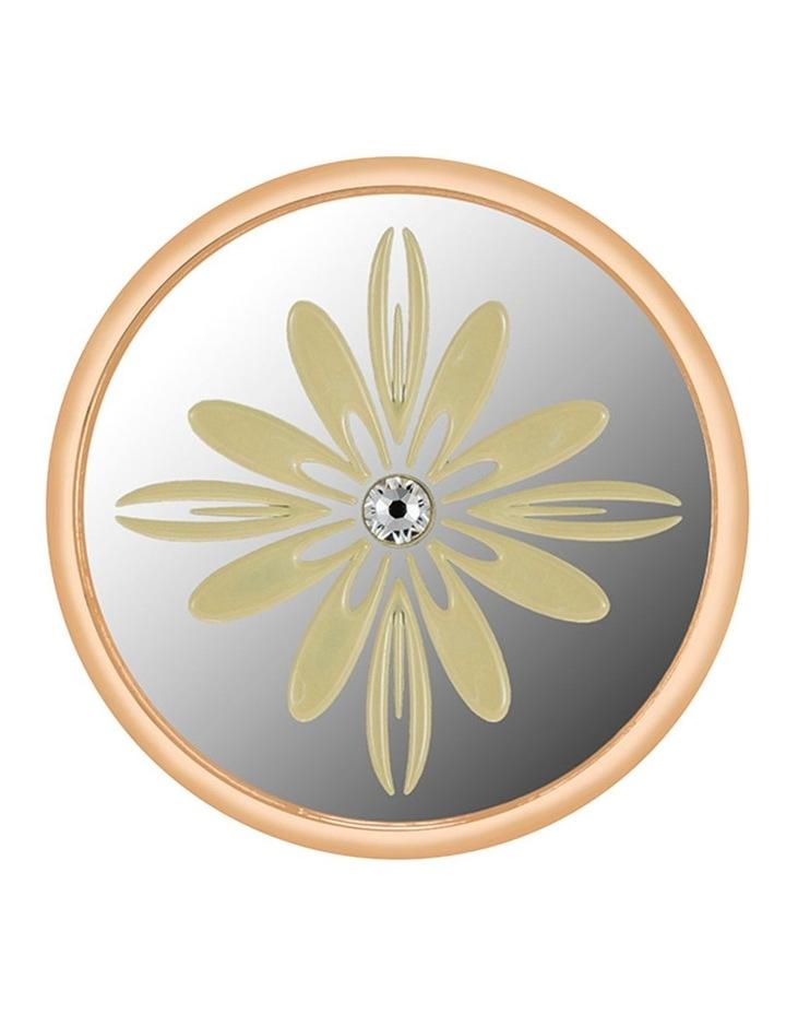 Emmesphere Sound Necklace - Silver + Qliq Filigree Daffodil - Gold image 2