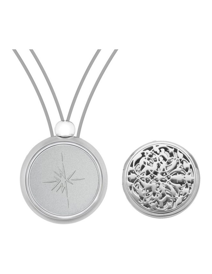 Emmesphere Sound Necklace - Silver + Qliq Essence Lace - Silver image 1