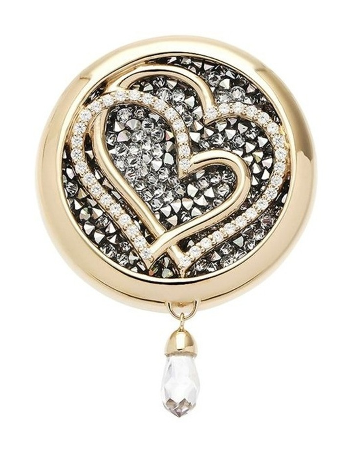 Emmesphere Sound Necklace - Silver & Qliq Heart-to-Heart - Gold image 1