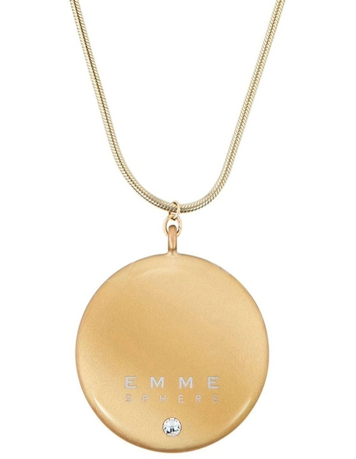 Hemisphere Necklace  Gold image 1