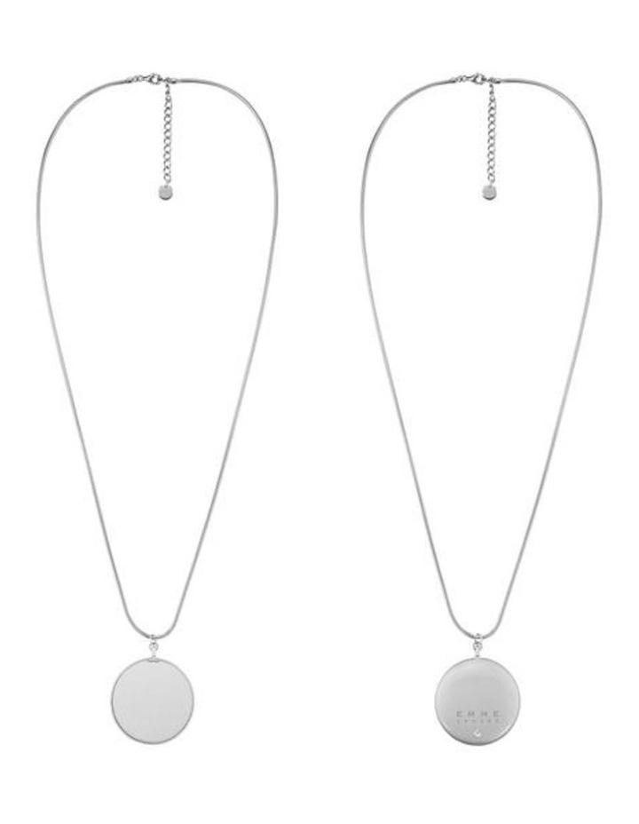 Hemisphere Necklace - Silver image 2