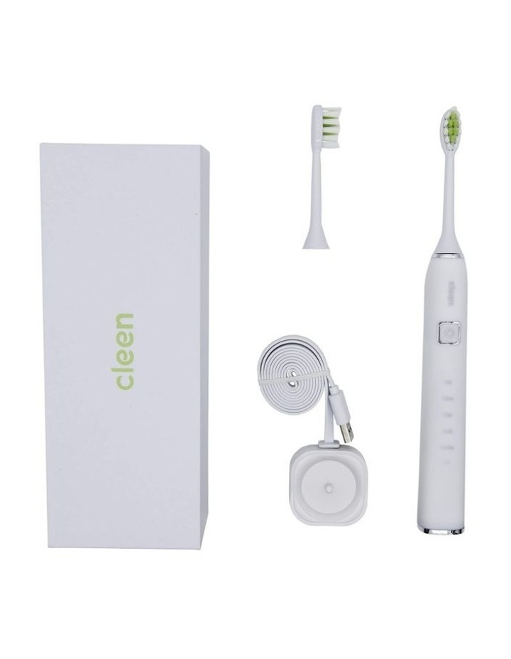 CLEEN Smart Sonic Toothbrush - White Ice image 3
