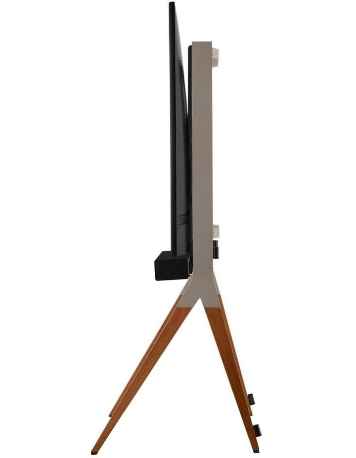 OneForAll Falcon Universal TV Stand - Walnut/Gunmetal image 3