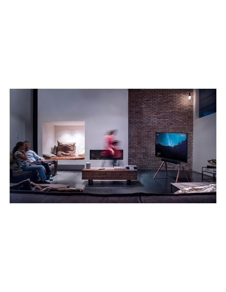 OneForAll Falcon Universal TV Stand - Walnut/Gunmetal image 6