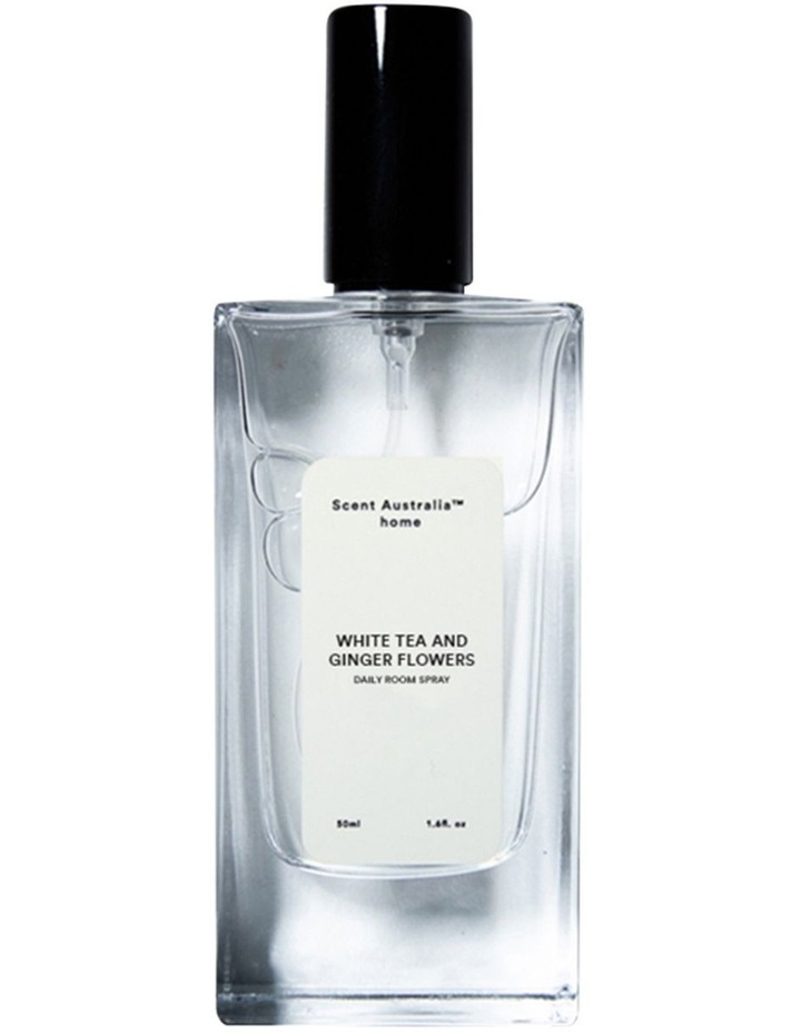 SCENT White Tea and Ginger Flowers Room Spray 50ml image 1