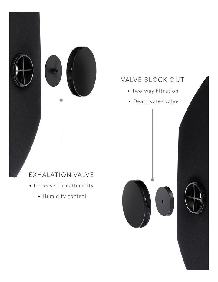 Airflex Black Foam Face Mask image 3