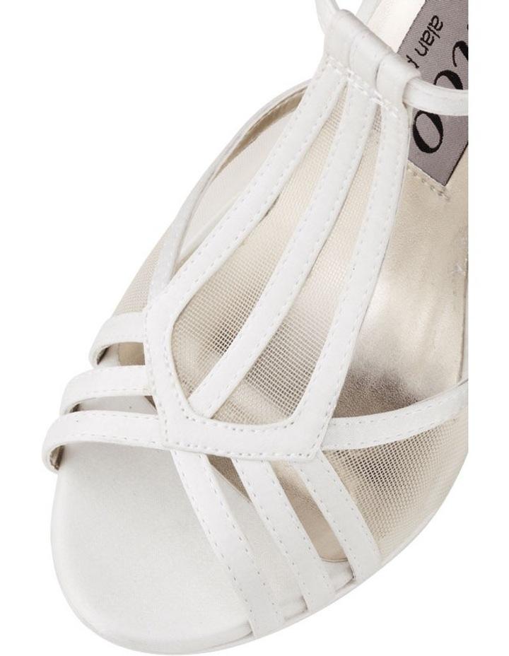 Shae 2 Vanilla Satin Sandal image 3