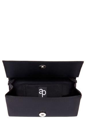 Alan Pinkus - Doris Black Silk Bag