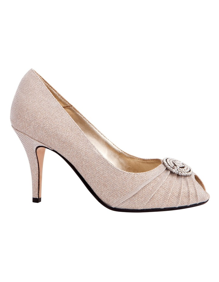 Issy Nude Glimmer Pump image 1