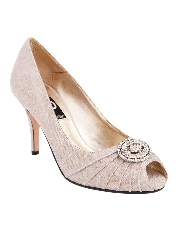 Issy Nude Glimmer Pump image 2