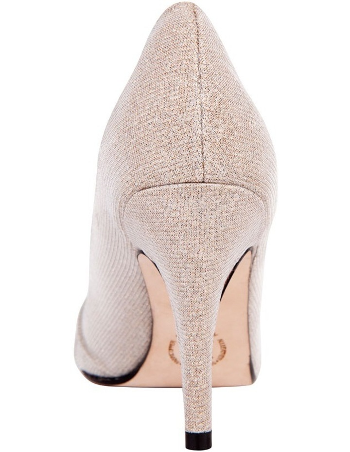 Issy Nude Glimmer Pump image 3