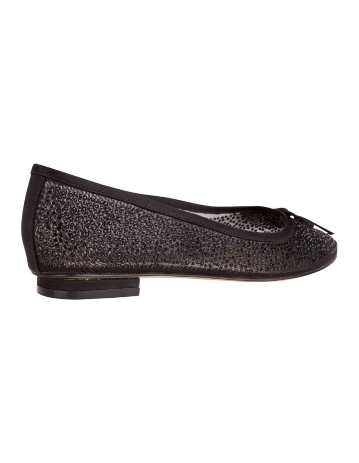 Twinkle Black Silk Pump image 3