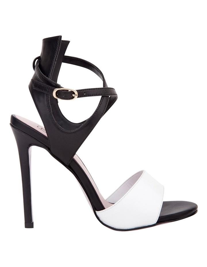 Pink Inc Flex White/Black Sandal image 1