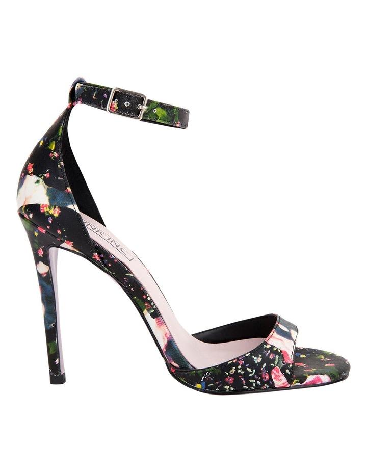 Pink Inc Flick Black Floral Sandal image 1