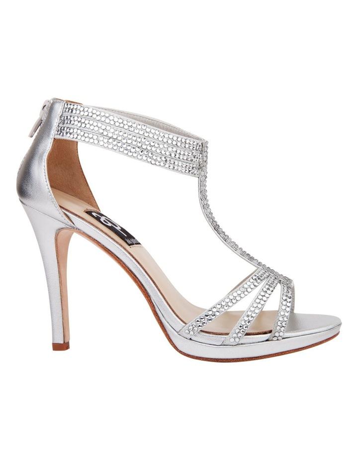Ideal Silver Metal Sandal image 1