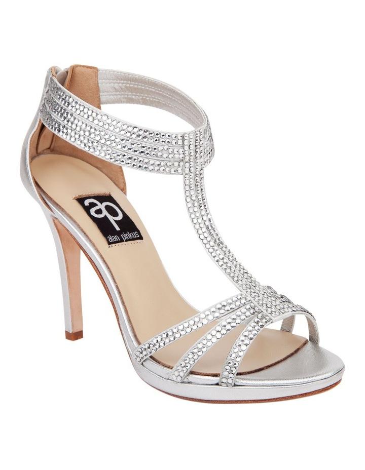 Ideal Silver Metal Sandal image 2