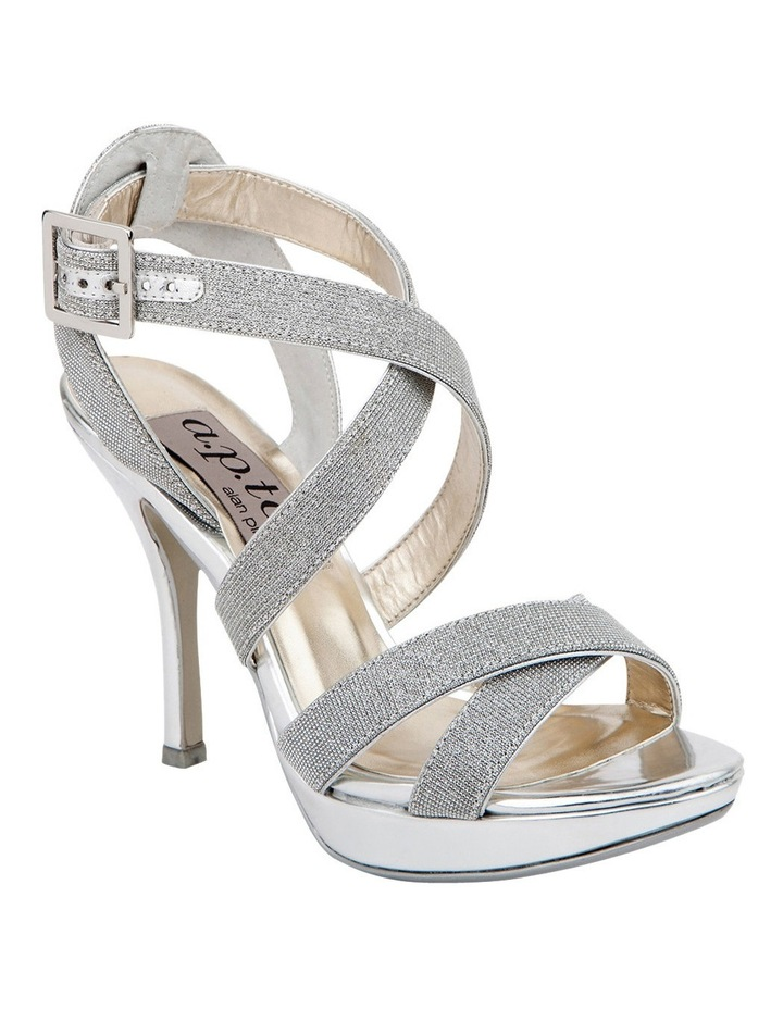 A.P.Too Wrap Silver Glimmer Sandal image 2