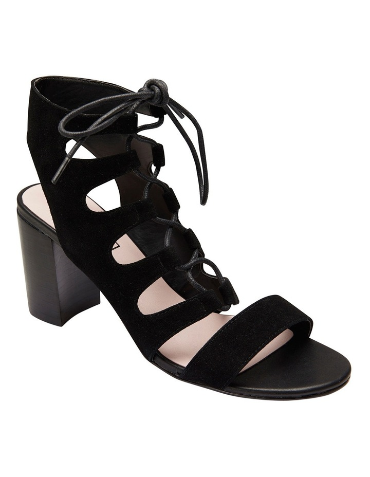 Pink Inc Dragon Black Suede Sandal image 2