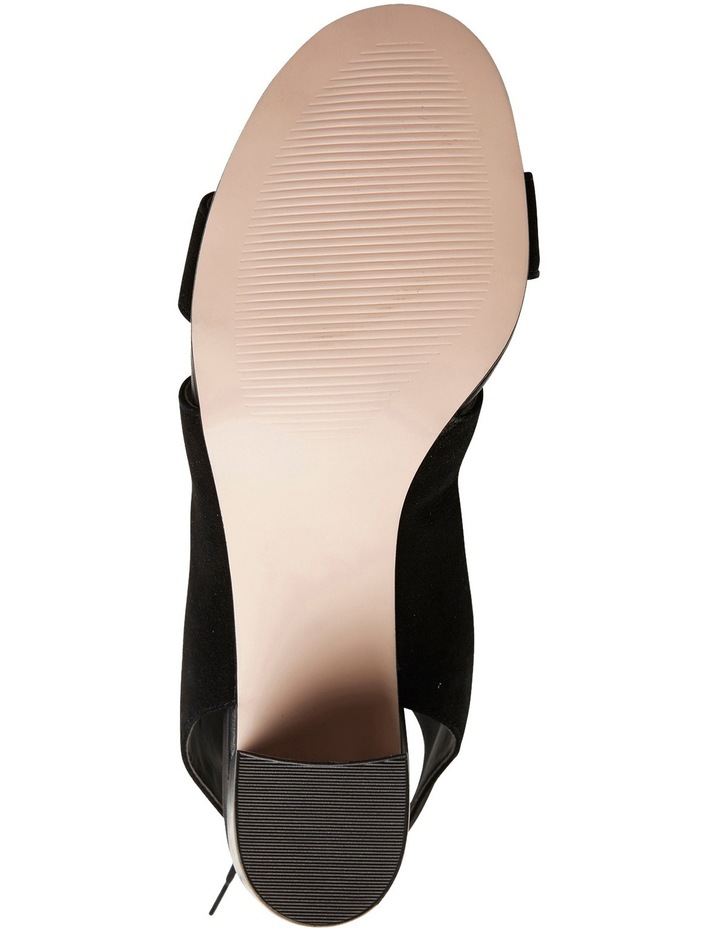 Pink Inc Dragon Black Suede Sandal image 6