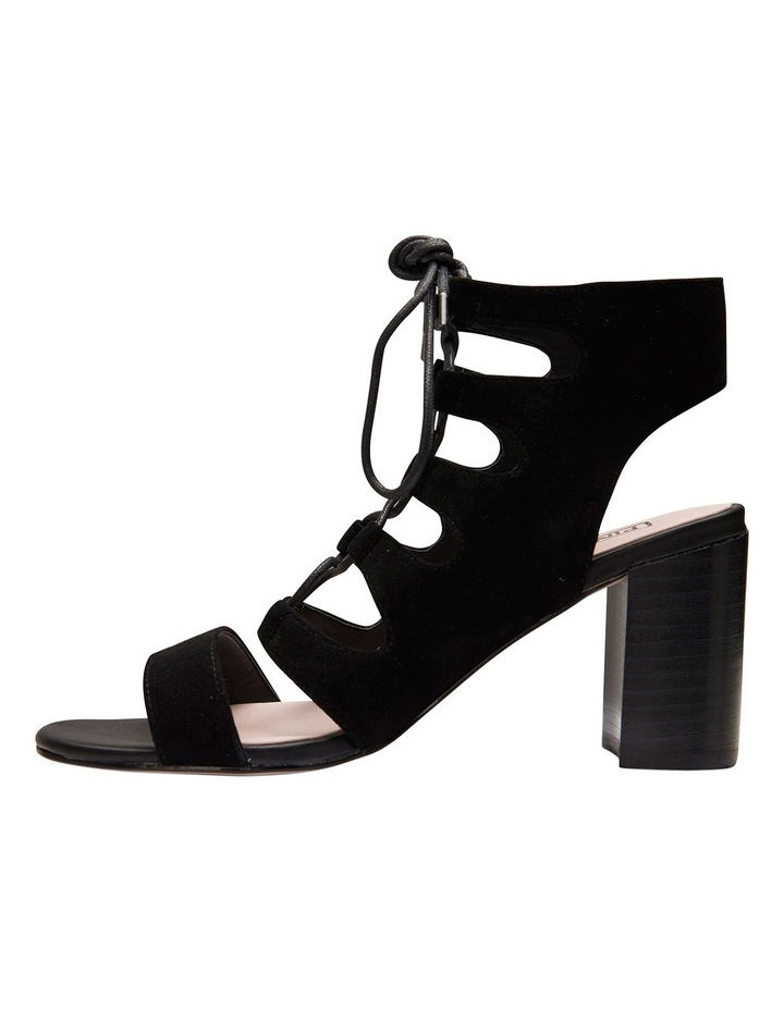 Pink Inc Dragon Black Suede Sandal image 7