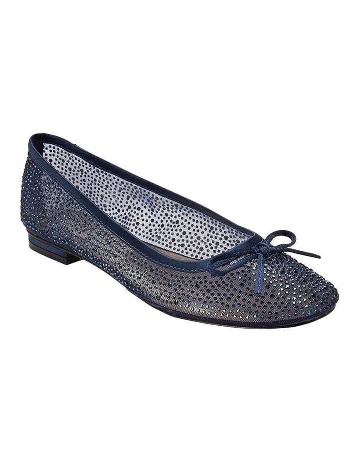 A.P.Too Twinkle Navy Silk Pump image 2
