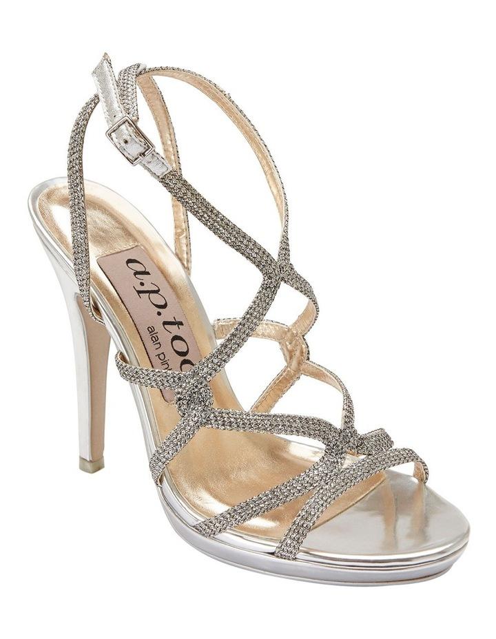 Stella Silver Sparkle Sandal image 2