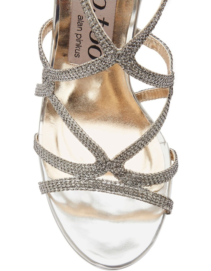 Stella Silver Sparkle Sandal image 3