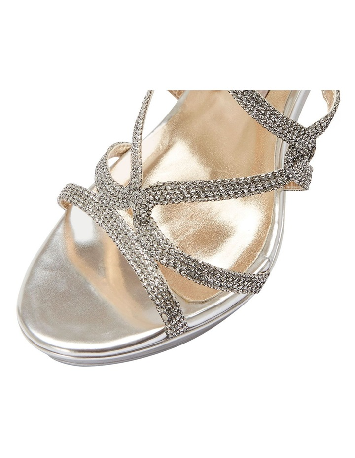 Stella Silver Sparkle Sandal image 5
