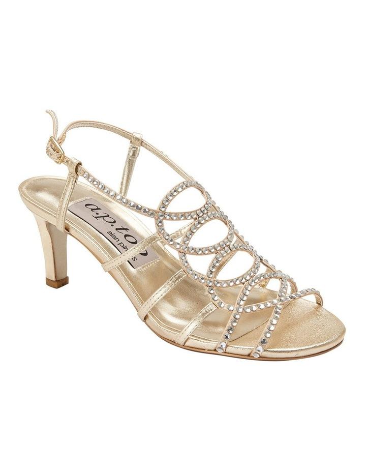 A.P.Too Utopia Gold Metallic Sandal image 2