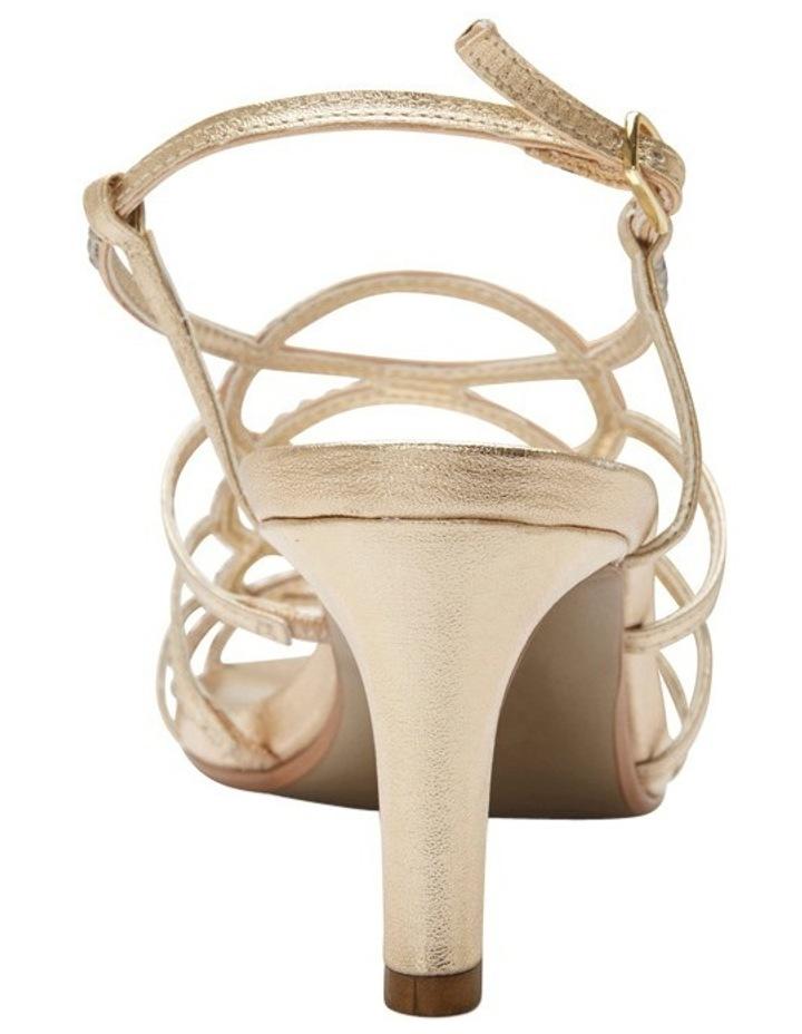 A.P.Too Utopia Gold Metallic Sandal image 5