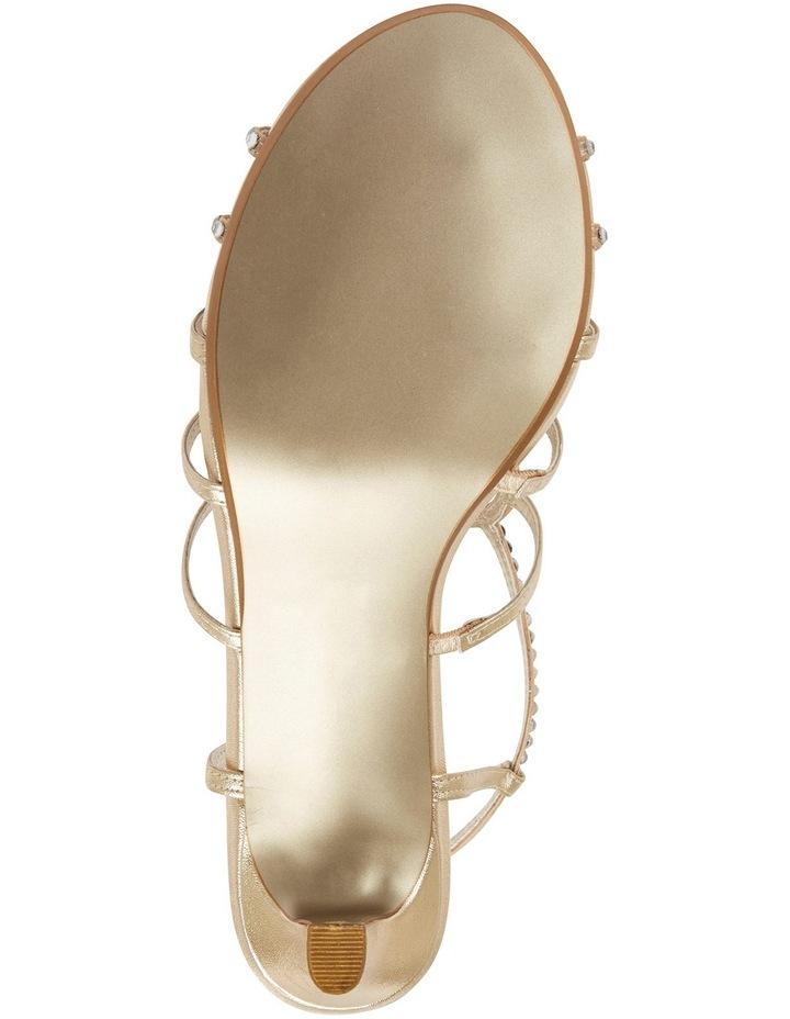A.P.Too Utopia Gold Metallic Sandal image 6