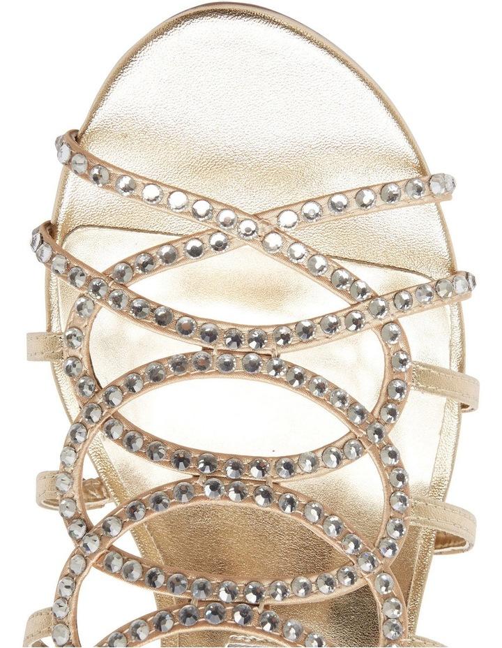 A.P.Too Utopia Gold Metallic Sandal image 8