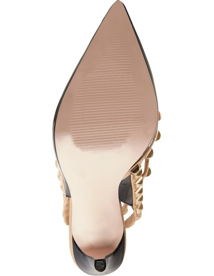 Pink Inc Saint Black Patent/Nude Pump image 8