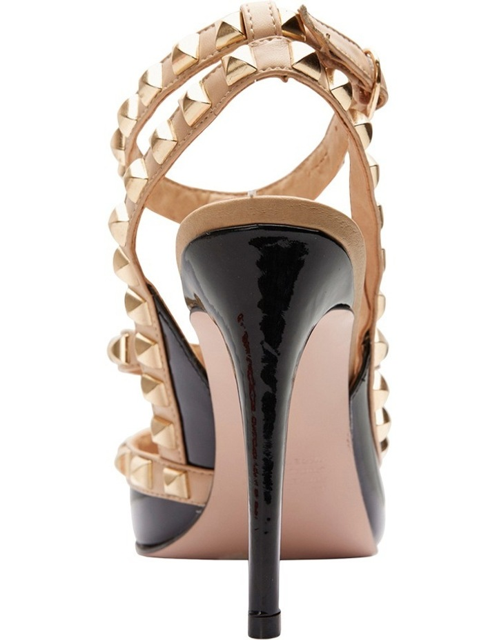 Pink Inc Saint Black Patent/Nude Pump image 7