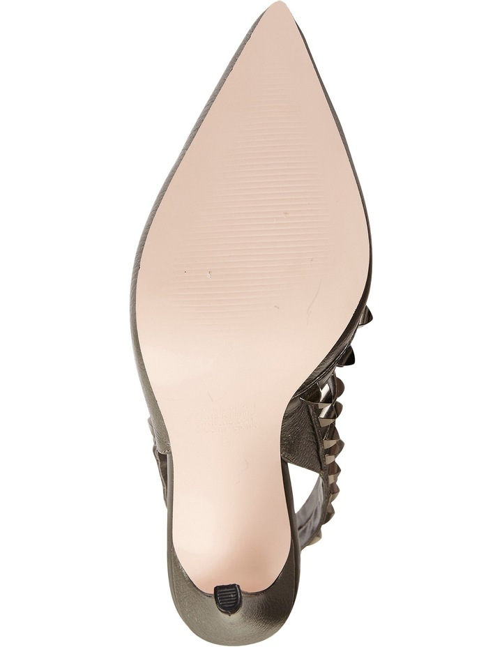 Pink Inc Saint Pewter Metallic Pump image 5