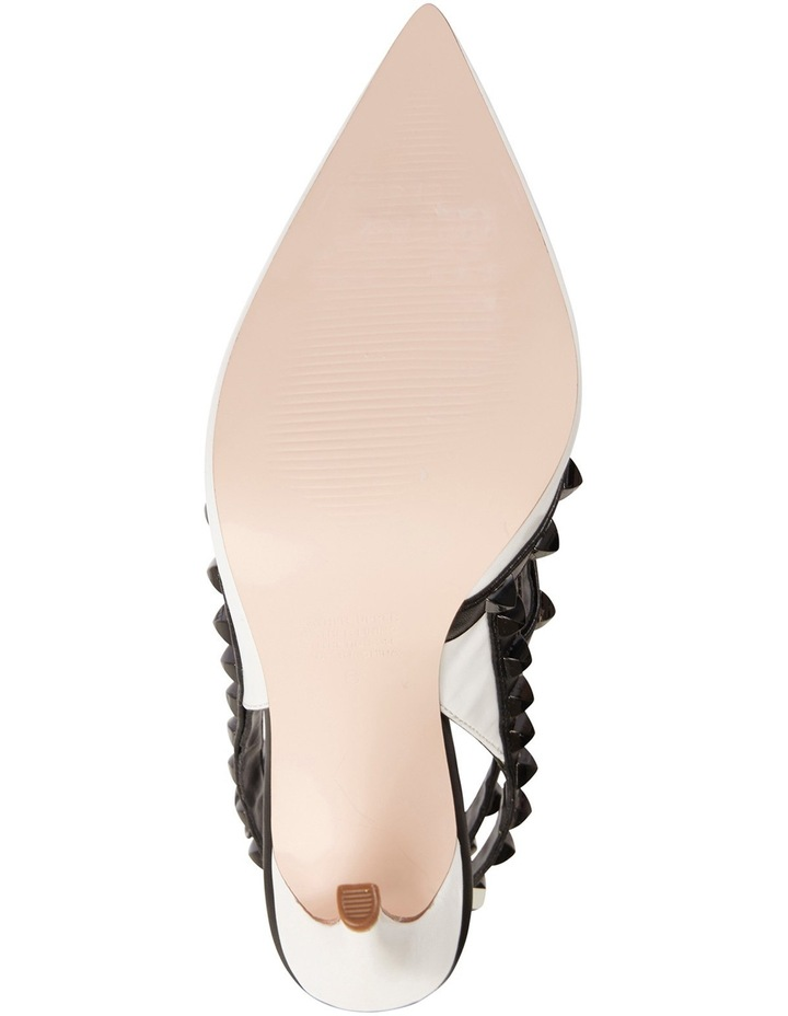 Pink Inc Saint White/Black Pump image 6