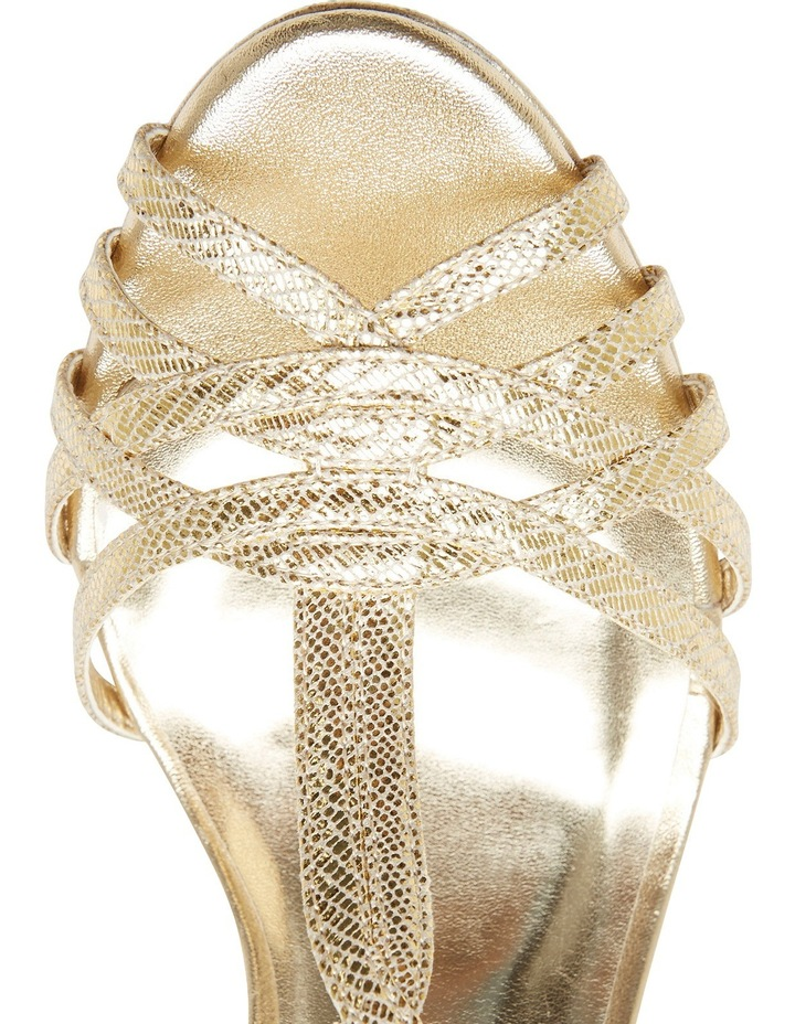 A.P.Too Jasmine Gold Lizard Sandal image 4
