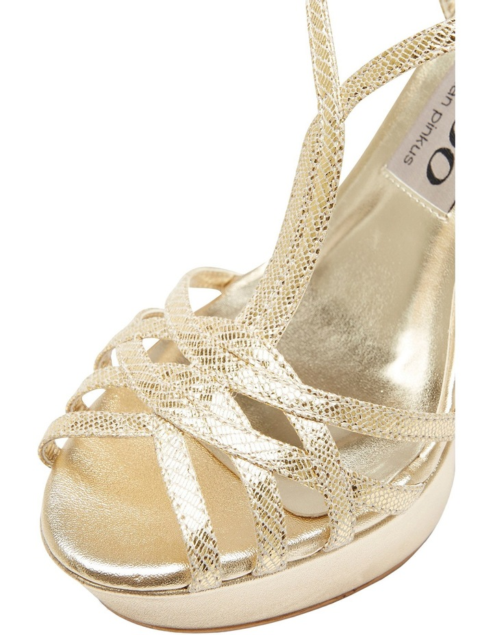 A.P.Too Jasmine Gold Lizard Sandal image 6
