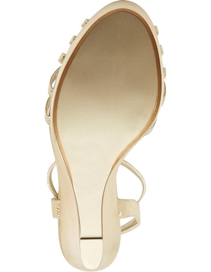 A.P.Too Jasmine Gold Lizard Sandal image 8