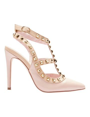 Alan Pinkus Pink Inc Saint Soft Pink Pump 9995b3f3a2