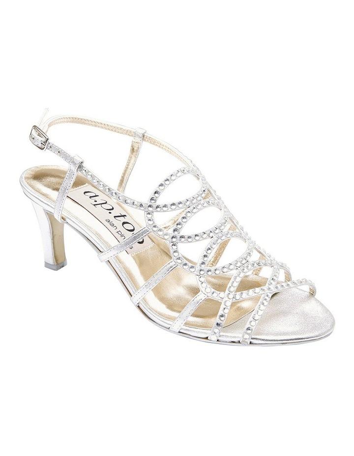 A.P.Too Utopia Silver Metallic Sandal image 2