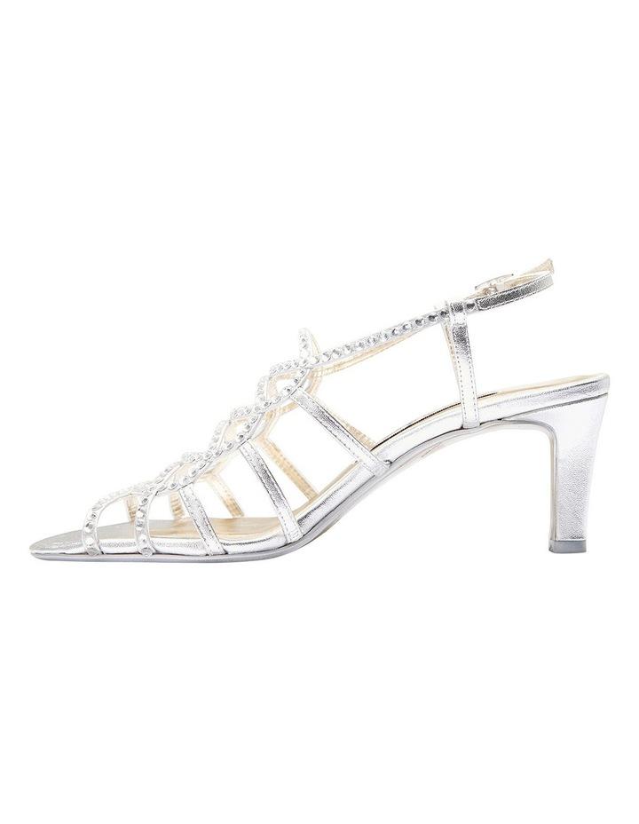 A.P.Too Utopia Silver Metallic Sandal image 3