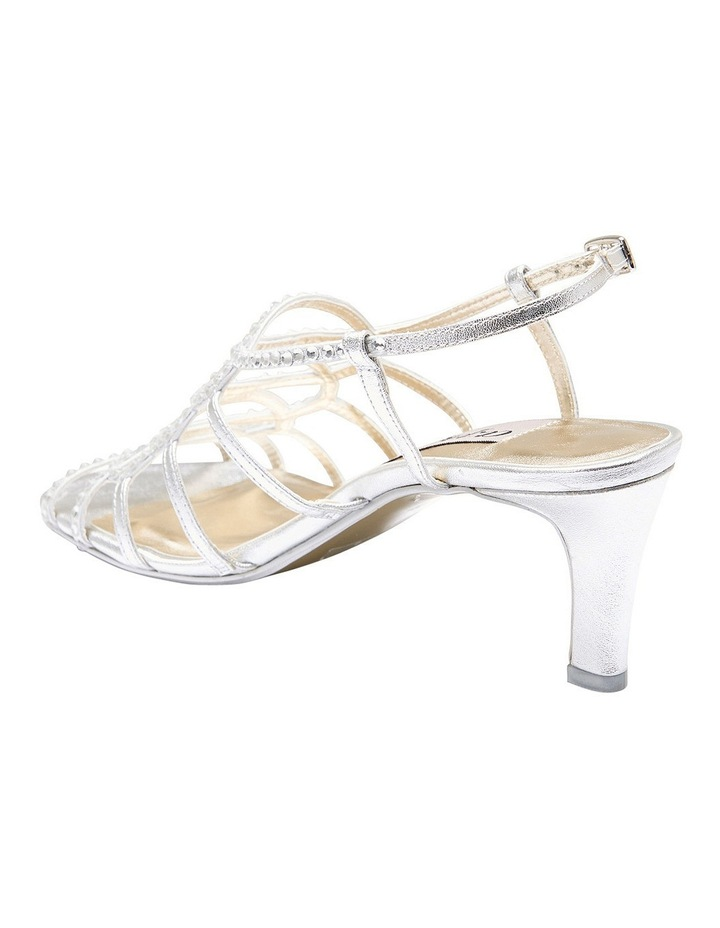 A.P.Too Utopia Silver Metallic Sandal image 4