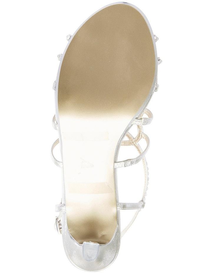 A.P.Too Utopia Silver Metallic Sandal image 6