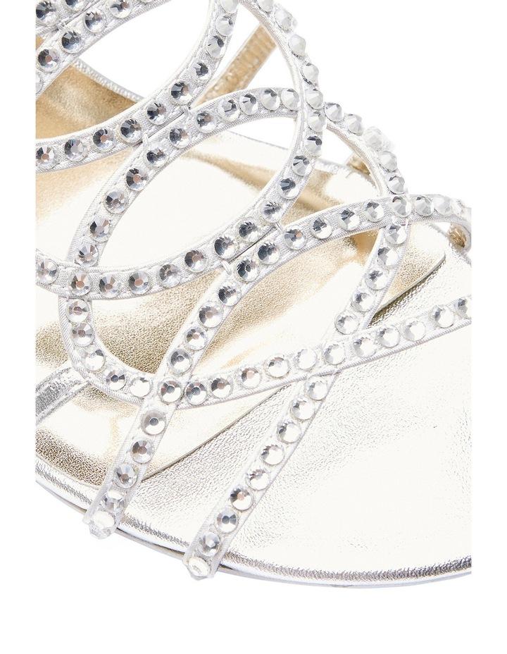 A.P.Too Utopia Silver Metallic Sandal image 7