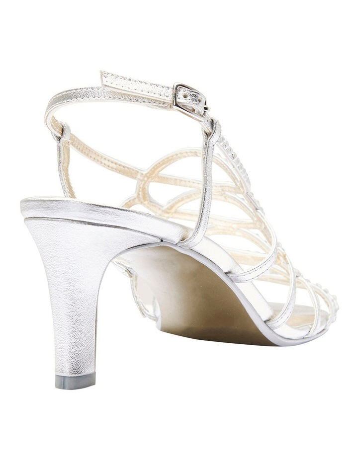 A.P.Too Utopia Silver Metallic Sandal image 8