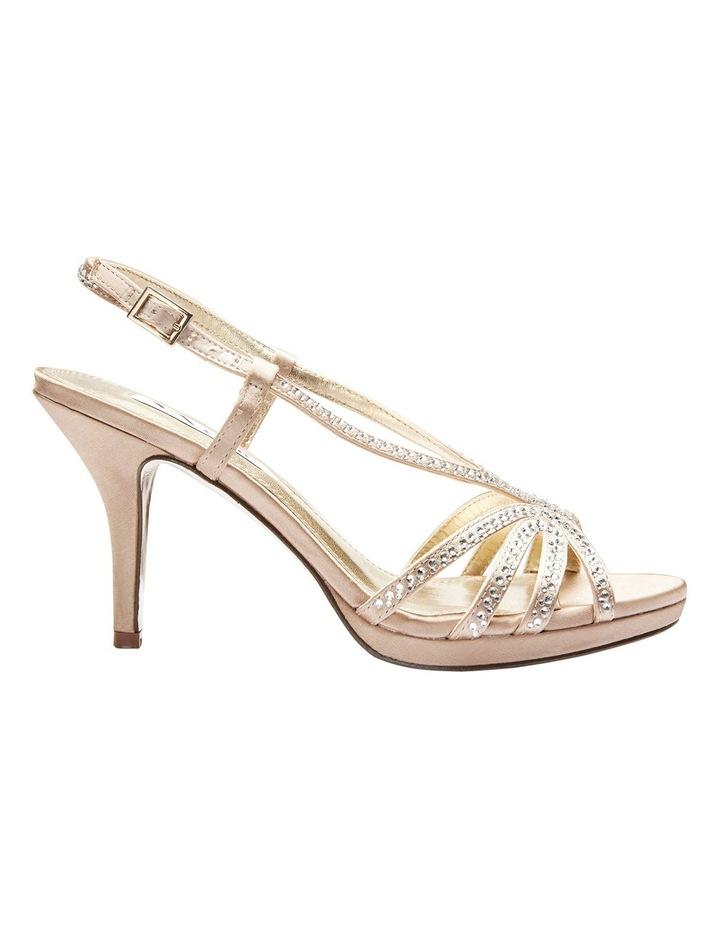 Nina Bobbie Champagne Jolie Satin Sandal image 2